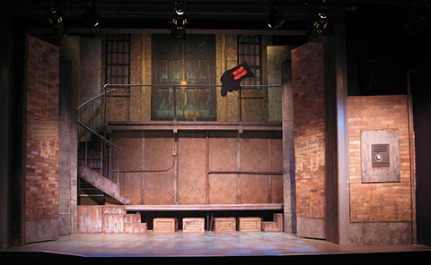 Urinetown: The Musical set